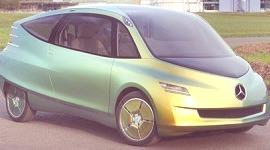 """Mercedes Benz Bionic Concept – Basado en el """"pez caja"""""""