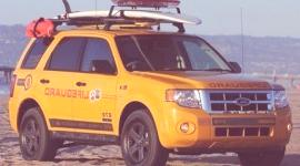 Ford Escape Hibrid, el ovalo ofrece 45 Escape híbridos a los socorristas de Los Ángeles