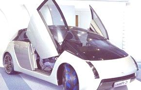 Mitsubishi Chemical C-Rev, un prototipo ecológico