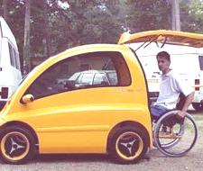 Kenguru, un coche para minusválidos