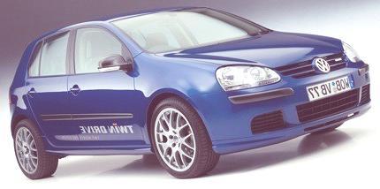 Volkswagen Golf Híbrido Twin Drive, se recarga mediante un enchufe