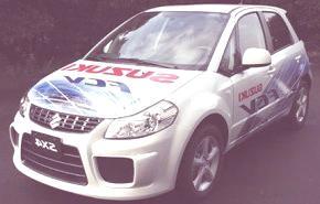 Suzuki SX4 FCV (Hidrógeno)