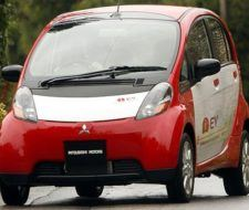 Mitsubishi probará coches eléctricos en California