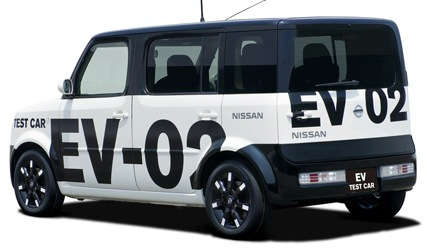 Nissan Electric Vehicle Prototype3