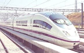 El AVE (Alta Velocidad Española) usara la inercia del tren para gastar menos energía