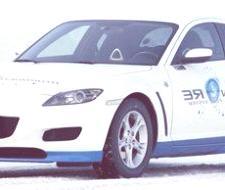 Mazda RX-8 Hydrogen RE, sale de Japón