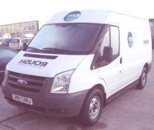 Ford Transit Roush a hidrógeno