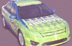 Ford Fusión Hybrid Pace Car, en el Nascar Sprint Cup