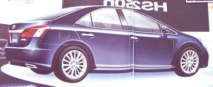 Lexus HS 250h, el híbrido de lujo de Toyota