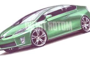 El nuevo Prius podría tener versiones coupe y pick up