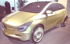 Mercedes Benz BlueZero Concept, nuevas imágenes y detalles