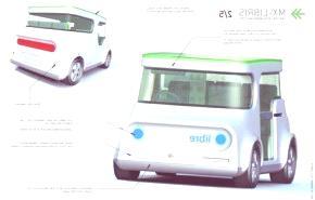 MX-Libris, una nueva propuesta para un coche urbano