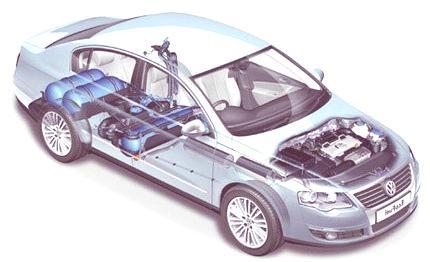 Volkswagen Passat TSI EcoFuel y Golf BiFuel, en Bolonia 2008