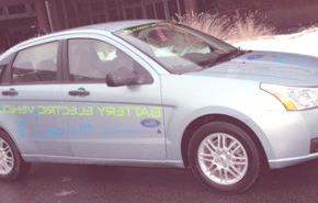 Ford Focus EV mule 2010
