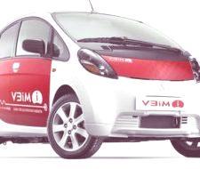 Mitsubishi i-MiEV, el modelo híbrido japonés llegara a Europa en el 2010