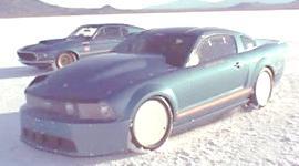 Ford Mustang a etanol y por un nuevo récord de velocidad