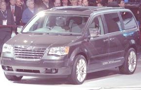 Chrysler Grand Voyager EV híbrido, más datos e imágenes