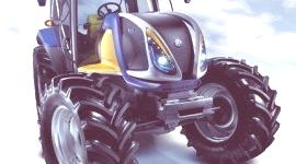 Holland NH2, el primer tractor a hidrógeno