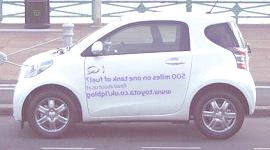 Toyota iQ con una destacada autonomía