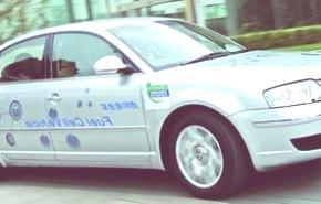 Volkswagen Passat Lingyu fuel-cell, (con célula de combustible), también en EE.UU.