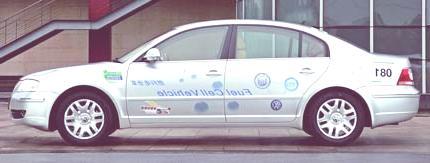 VW Passat Lingyu fuel-cell2