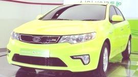 Kia Forte LPI Hybrid, el primero de la línea Eco-Dynamics