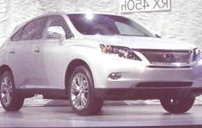 Lexus RX 450h 2009, la versión híbrida de la SUV japonesa, especificaciones técnicas