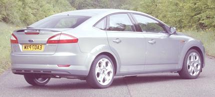 New Mondeo Five-door Titanium X. (06/13/07)