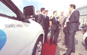Better Place acordó con 19 compañías de Israel para probar y evaluar el coche eléctrico