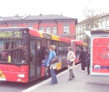 Autobuses que están impulsados con materia fecal humana en Oslo