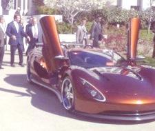 Schwarzenegger probó el Ronn Motors Scorpion, el superdeportivo de hidrógeno
