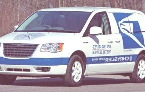 Chrysler Voyager eléctrica para el servicio postal de Estados Unidos