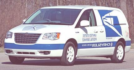 Chrysler Voyager para el USPS2