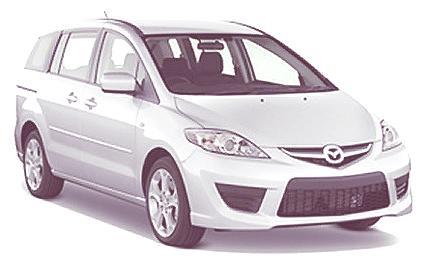Mazda 5 2010, con un nuevo motor rotativo de hidrógeno