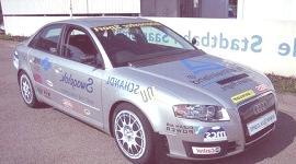 Audi A4 2007 con biocombustible (biogás)