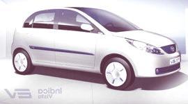 Tata Indica Vista EV, se presentara muy pronto en el salón de Midlands