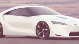 Toyota prepara un rival para el Honda CR-Z (FT-HS Concept)