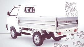 Piaggio Porter Electric-Power Top-Deck, (Plan Movele)