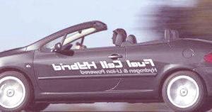 Peugeot 307 CC FiSyPAC FCHV (célula de combustible)