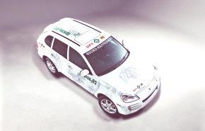 Porsche Cayenne CO2ncept-10%, un desarrollo en conjunto con el Grupo Schaeffler