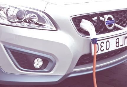 Volvo C30 eléctrico chico