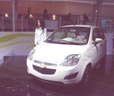 Chevrolet Spark EV, en Nueva Delhi 2010