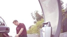 Honda presentó su estación solar de hidrógeno