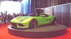 DETROIT 2010, Revenge Verde Supercar y CT&T