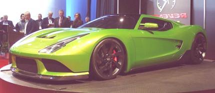 Revenge Verde Supercar chico