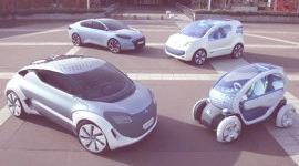 Prototipos de coches híbridos 2010