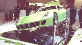 GINEBRA 2010, Ferrari 599 HY-KERS Hybrid Experimental (videos)