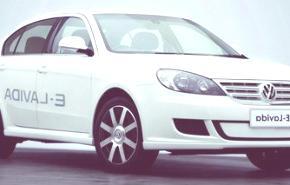 Volkswagen E-Lavida Study, en Beijing 2010