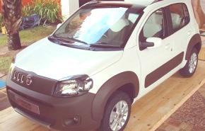 Fiat Uno ECO 2011, presentación en Brasil