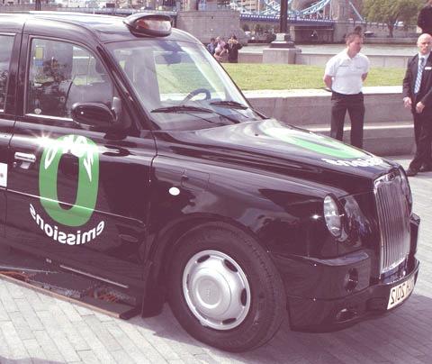London taxi Hydrogen2